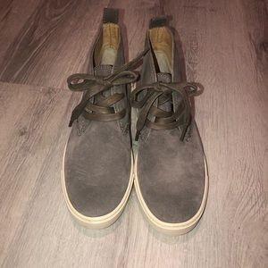 frye grey sneakers euc size 6.5